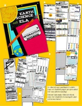 Grade 3 ELA & Earth Science Interactive Notebook