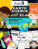 Grade 3 ELA & Earth Science Interactive Notebook
