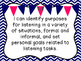Grade 3 ELA I Can Statements - Ontario Aligned
