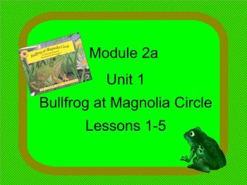 Grade 3 ELA Module 2A Unit 1 Lessons 1-5
