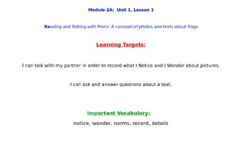 Grade 3 ELA Module 2A Units 1, 2, and 3 BUNDLE-New York State POWERPOINT- NEW*