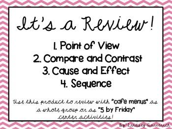 Grade 3 ELA Review