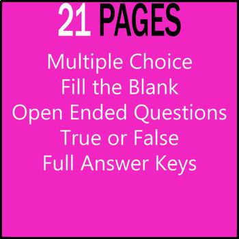 ELA Worksheets | Parts of Speech | Nouns | Grade 3 Test Prep