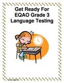 Grade 3 EQAO Language Testing Practise