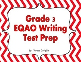 Grade 3 EQAO Writing Test Prep Activity Centers