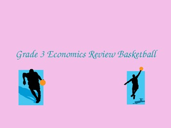 Grade 3 Economics Review Game