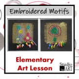 Grade 3 Embroidered Motifs