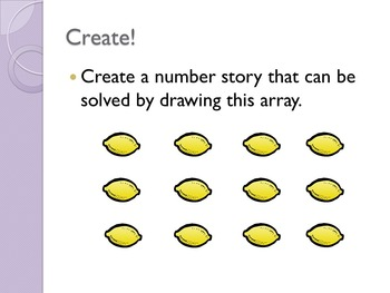Grade 3 EnVisions Math Lesson 4-2 Inspired Power Point Lesson on Arrays