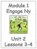 Grade 3 Engage Ny ELA Module 1 Unit 2 {Lessons 3-4, The Boy Who Loved Words}