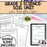 Grade 3 Soil in the Environment Unit (English Version) PRI