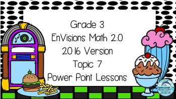 Grade 3 Envisions Math 2.0 Version 2016 Topic 7 Inspired Power Point Lessons