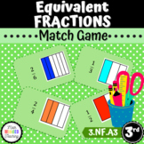 Grade 3 - Equivalent Fractions - Match Game