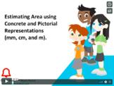 Grade 3: Math: Estimating Area Concept Capsule
