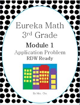 Grade 3 Eureka Math Module 1 Application Problems for Lessons 1-21