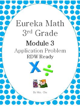 Grade 3 Eureka Math Module 3 Application Problems