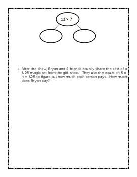 Grade 3 - Eureka Math Module 3 Mid-Module Study Guide