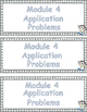 Grade 3  Math Module 5 Application Problems to cut and paste into notebook