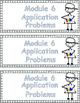 Grade 3 Math Module 6 Application Problems to cut and past