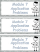Grade 3  Math Module 7 Application Problems to cut and pas
