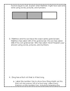 Grade 3 - Eureka Module 5 End of Module Study Guide