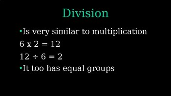 Grade 3 Everyday Math 1.9 (intro to division)
