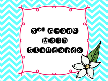 Grade 3 Florida Math MAFS Standards