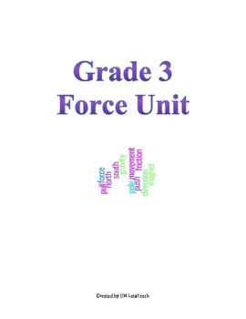 Grade 3 Forces Unit