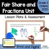 Grade 3 Fractions Complete Unit