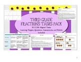 Grade 3 Fractions Tasks Pack