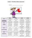 Grade 3 Fractions Test - Ontario Curriculum