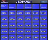 Grade 3 French Immersion EQAO Math Jeopardy