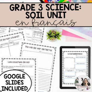Grade 3 Soil in the Environment Unit / Le sol dans l'environnement (French)