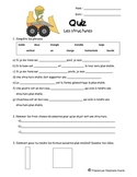 Grade 3 French Structures unit quiz/test