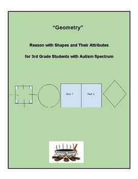 "Distance Learning, Grade 3, CCS:""Geometry"", Autism Spectrum"