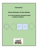 Grade 3 - Geometry for Students with Mental Health or Medical Conditions - CCS