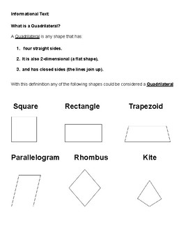 Grade 3 - Geometry for Students with Speech and Language Disorders - CCS
