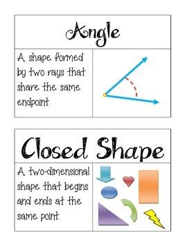 Grade 3 Go Math Chapter 12 Vocabulary