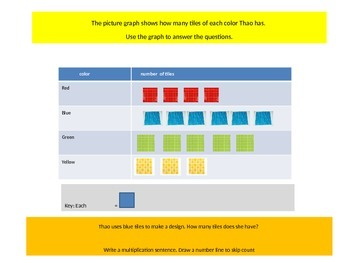Third Grade   Chapter 3 Math Performance task