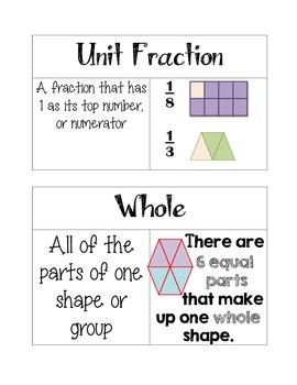 Grade 3 Go Math Chapter 8 Vocabulary
