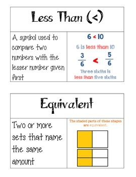 Grade 3 Go Math Chapter 9 Vocabulary