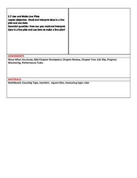 Grade 3 Go Math Curriculum Map