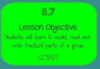 Grade 3 Go Math Smartboard Lesson Chapter 8 Lesson 8