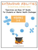 "Grade 3, Grade 4 and Grade 5: ""Base 10 Bundle"" for Physical Disabilities"