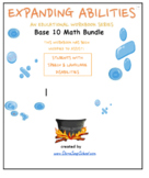 "Grade 3,  4 and Grade 5 CCS: ""Base 10 Bundle"" for Speech/Language Challenges"