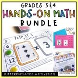 Grade 3 & 4 Hands-on Math Pack BUNDLE
