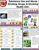 Grade 3 Health Bundle - Safety, Healthy Eating, Smoking, Drinking, Etc.