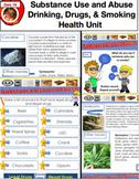 Grade 3 Health Bundle - Safety, Healthy Eating, Smoking, Drinking, Etc.