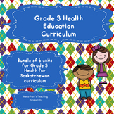 Grade 3 Health Bundle of 6 Units