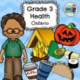Grade 3 Health Ontario Curriculum 2018 Updated