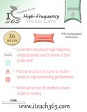 Grade 3 High-frequency Workbook